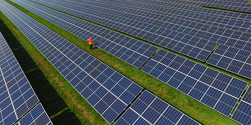 Installation solaire aux Pays-Bas