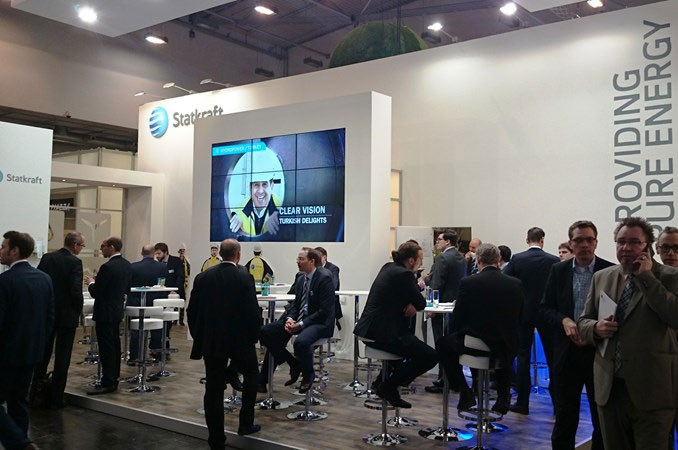 Statkraft au salon E-World 2015